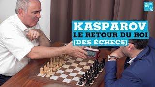 Échecs : Garry Kasparov, le retour du roi