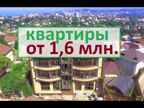 ЖК Панорама Сочи 3, Квартиры в Сочи от 1 600 000 руб. с документами, район Светлана, статус Квартира