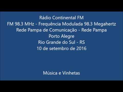 Rádio Continental FM - Porto Alegre (2016)