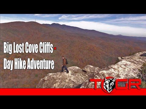 Too Close! - Big Lost Cove Cliffs - Day Hike Adventure
