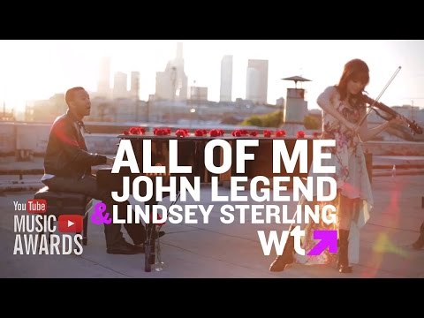 John Legend - All Of Me Official Video With LYRICS On SCREEN