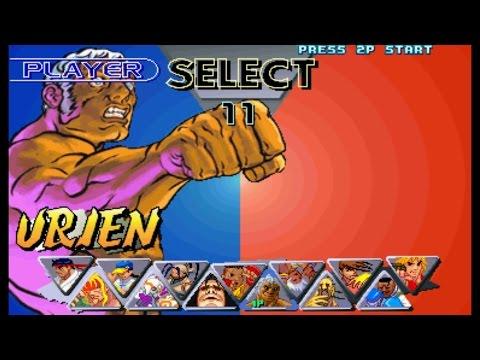 Street Fighter III : 2nd Impact - Urien Playthrough (Arcade)