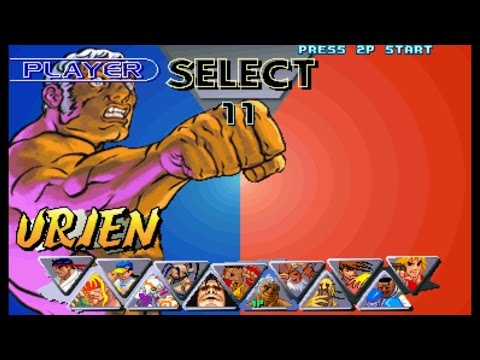 Street Fighter III : 2nd Impact - Urien Playthrough (Arcade)