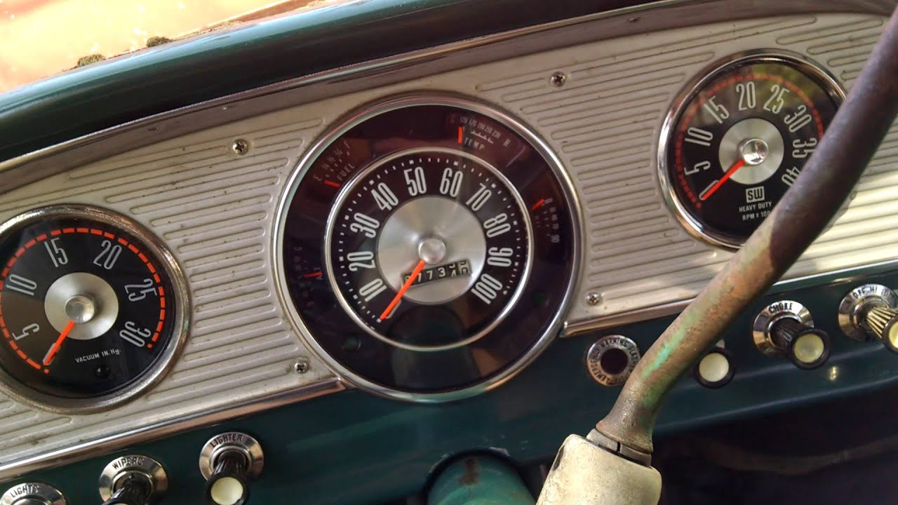 1964 Ford Thunderbird Wiring Diagram Will Be A Thing Gauge Cluster Install 1966 F100 28 Youtube Wire Wheels 1965
