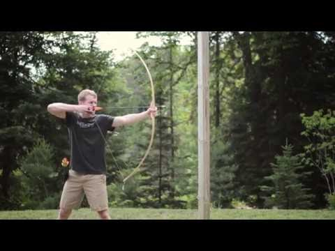 A Simple Yellow Birch Flatbow (Bow #4)
