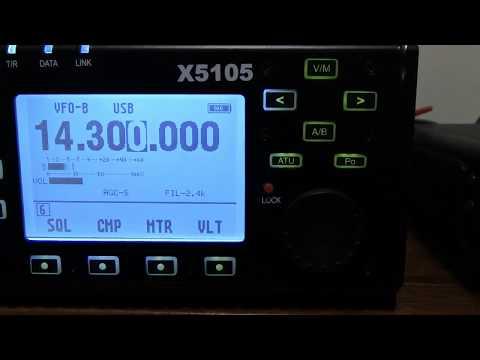 Xiegu X5105 Panadapter Bandscope Using USB Dongle | Waooz com