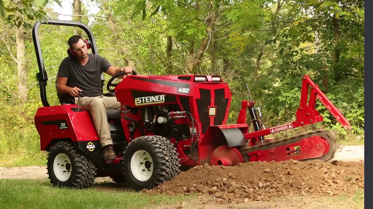 the all new steiner 450 tractor youtube. Black Bedroom Furniture Sets. Home Design Ideas