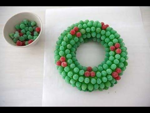 Christmas-Desserts-How-To-Make-A-Gumdrop-Wreath