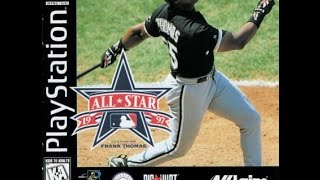 All Star Baseball 97 Featuring Frank Thomas - PS1 1997 (Opening)