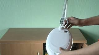 Настольная лампа с линзой 5D ZD-140A LED 127 мм