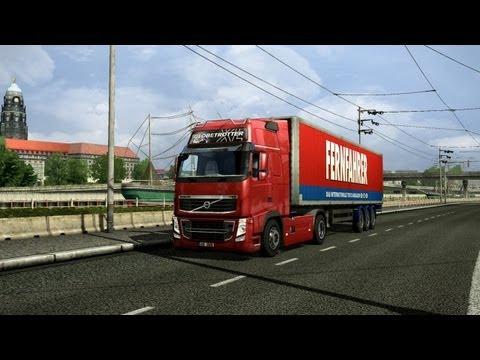 Виртуальный дальнобой в игре ,,Euro Truck Simulator 2,,  № 2