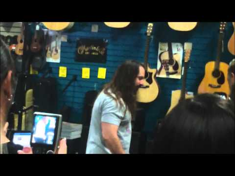John Petrucci Meet and Greet at Music Maker Austin TX, 7/7/2012