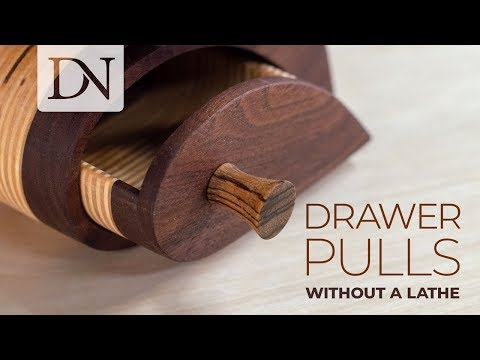 Make Drawer Pulls Without a Lathe // Easy DIY Drawer Pulls and Knobs