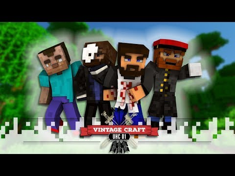 VINTAGECRAFT UHC - EP03 - To The Desert!
