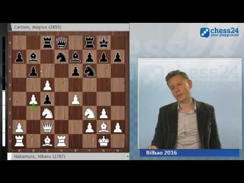 Nakamura - Carlsen, Bilbao Chess Round 6: Grandmaster Analysis