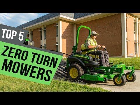 5 Best  Zero Turn Mowers Reviews
