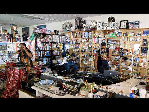 Shabazz Palaces: NPR Music Tiny Desk Concert
