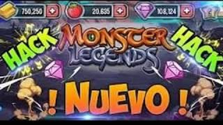 """♥️Hack De Gemas, Oro, Comida Y XP  En Monster Legends """"Todo Infinito""""♥️🔥2018 Junio El Bochin🔥"""