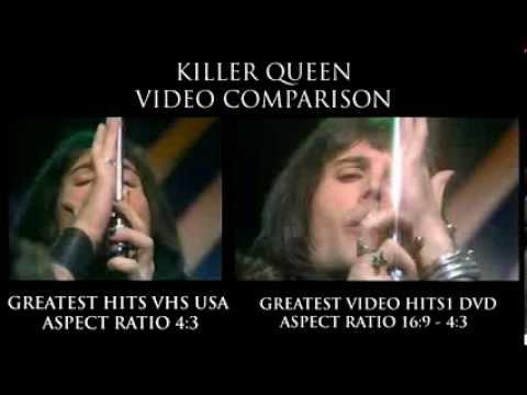 QUEEN KILLER QUEEN VIDEO COMPARISON