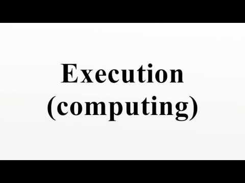 Execution (computing)