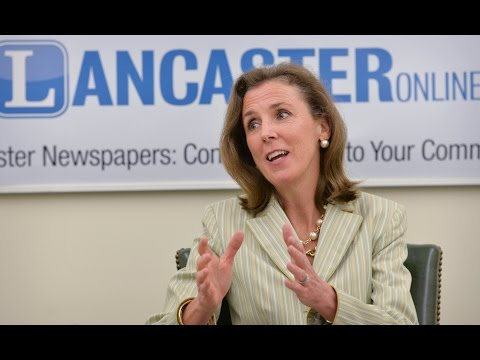 LNP Editorial Board: Gov. Tom Wolf Chief of Staff Katie McGinty