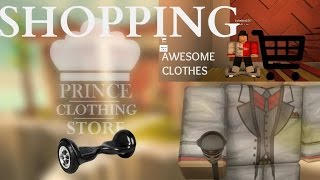 Shopping In Roblox...|Roblox Prince Clothing store| Black Friday