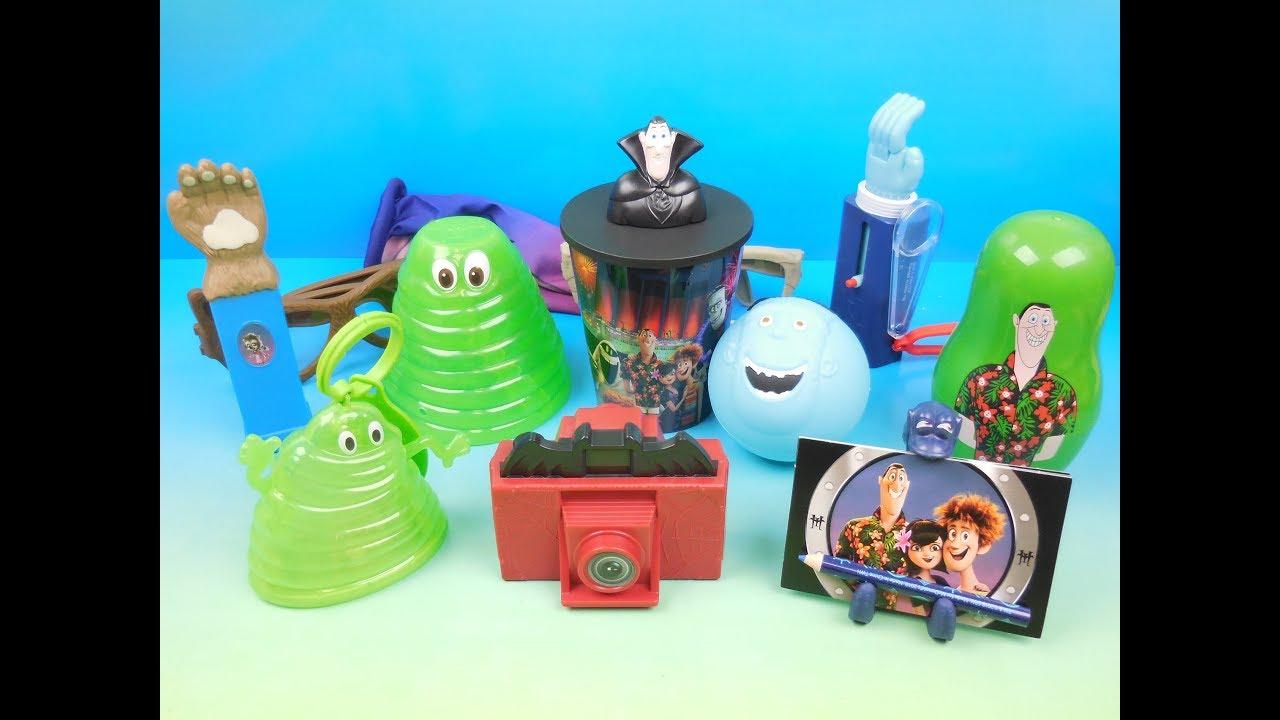 2018 Hotel Transylvania 3 Set Of 12 Mcdonalds Happy Meal Kids Toys