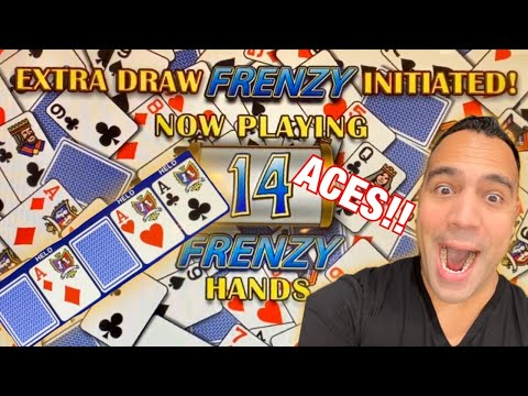 ♦️HIGH LIMIT EXTRA DRAW FRENZY!!! | DOUBLE DOUBLE BONUS, $15 BETS!! | ♠️♥️♦️👑💰