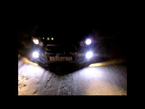 Противотуманные фары с ДХО Ангельские глазки для Chevrolet Aveo 2 от МирДХО