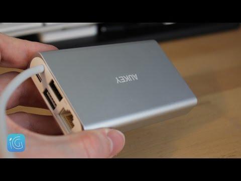 10-in-1 Colorii USB Type-C Hub with 4xUSB3, HDMI, VGA ...