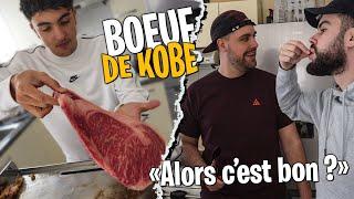 1kg5 de Bœuf de Kobe avec Inoxtag, Lebouseuh & Pidi ! (première fois qu'on goûte)
