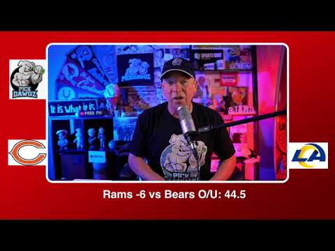 Monday Night Football Pick Los Angeles Rams vs Chicago NFL Pick and Prediction 10/26/20 Week 7 NFL