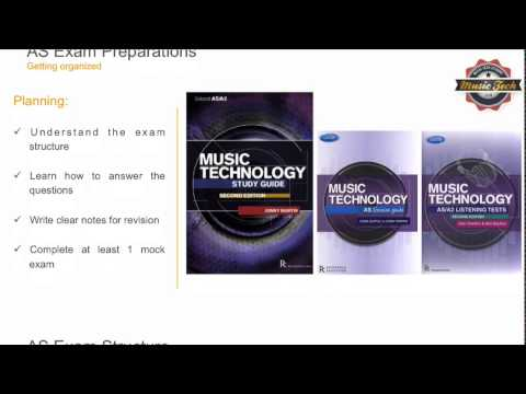 AS Music Technology Revision Session - Exam Preparation