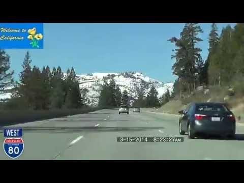 Reno NV to San Francisco CA 2014 HD Version