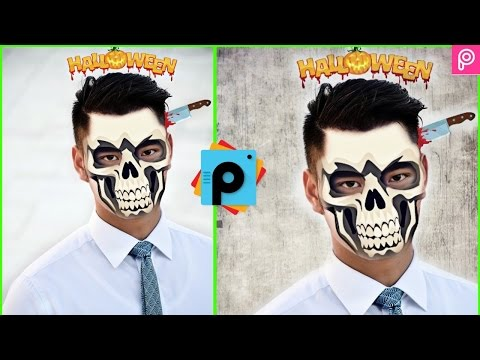 Halloween Edit PicsArt Windows