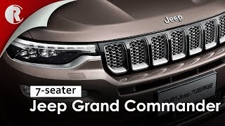 Jeep Grand Commander- the 7-seater Jeep