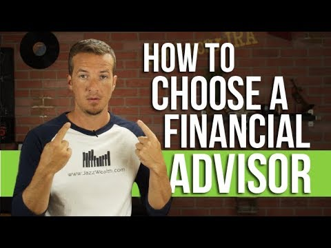 How to choose a financial advisor or wealth manager.
