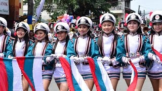 BAKOOD FESTIVAL 2016 - part 2 (The grandest and longest marching band parade in the PH)
