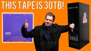Gambar cover THIS $130 TAPE CAN HOLD 30TB!