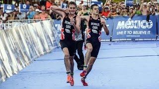 триатлон олимпийское золото - брат помог брату