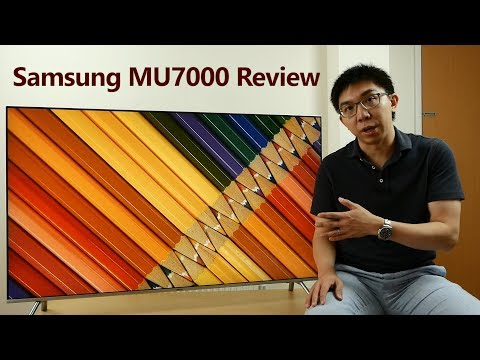 Samsung 55-inch MU7000 (MU8000) Review: 4K, HDR, Gaming