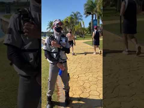 Segurança repreende mulher de biquíni e libera homem sem camisa no DF
