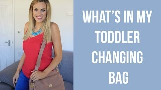 Download Video What's in my toddler changing bag // Coco Bow Bag Review MP3 3GP MP4