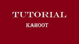 Tutorial Cómo Funciona Y Crear Un Kahoot Youtube