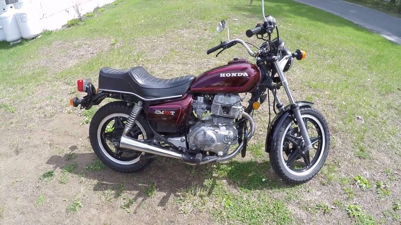 1980 honda cm400t start and walk around youtube rh youtube com 1980 honda cm400t motorcycle 1980 honda cm400t motorcycle parts