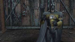 Batman: Returns to Arkham City - Prison Riot as BATMAN (Sinestro Corps)