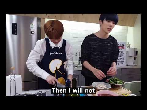 [Monsta X] Kihyun said he hates cranberries so...