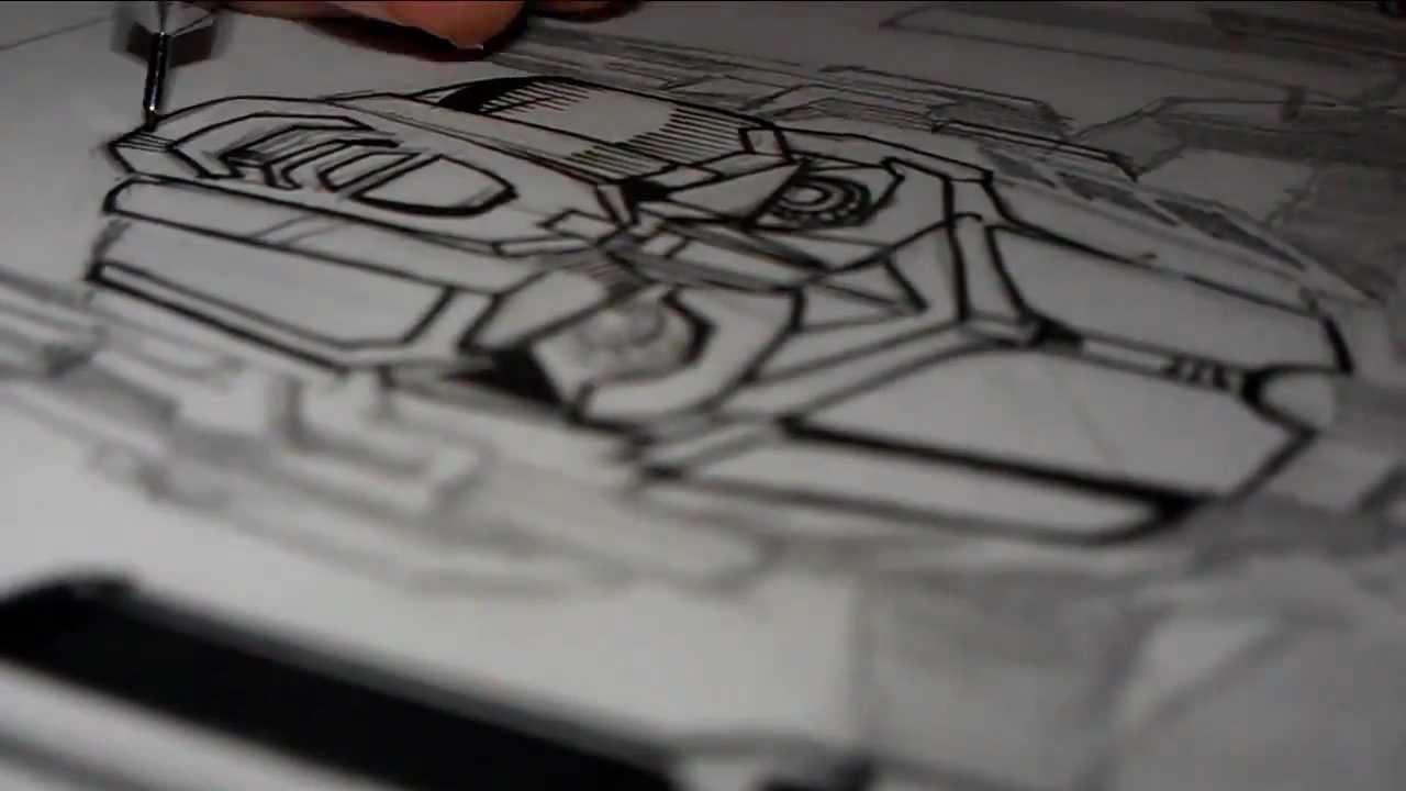Dibujando a \
