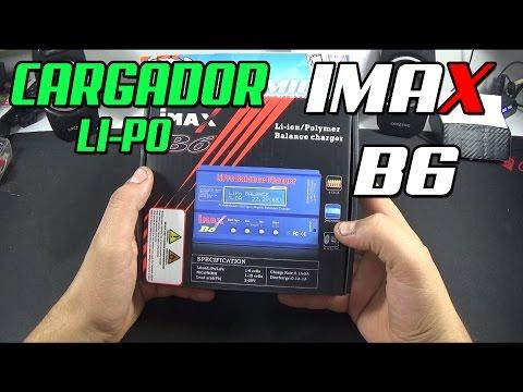 Cómo utilizar el Imax B6 cargador balanceador de baterias Li-Po, en Español