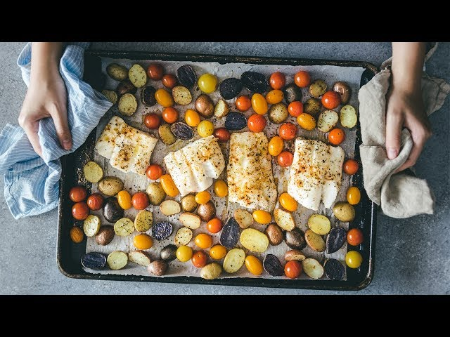 Meal Prep Recipes - How to Make Easy Baked Fish for Dinner | Meal Prep on Fleek